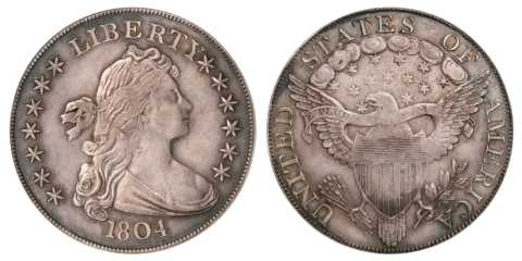 Coin Collecting 1804 Dollar