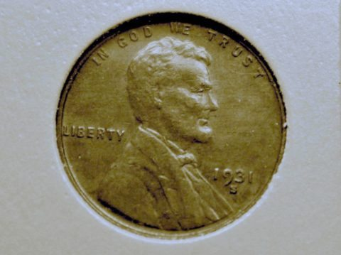 1931 s penny