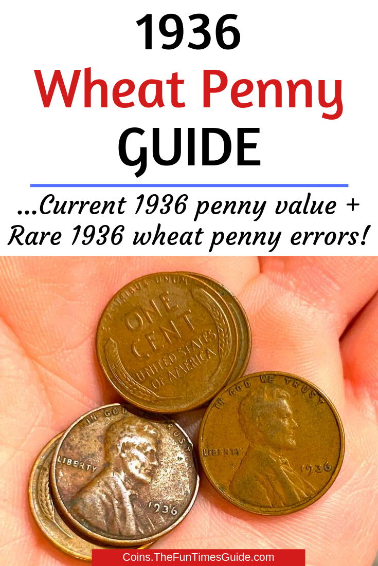 Did You Know?... There\'s A 1936 Wheat Penny Worth $5,000! See Which 1936 Pennies Are Worth The Most Money
