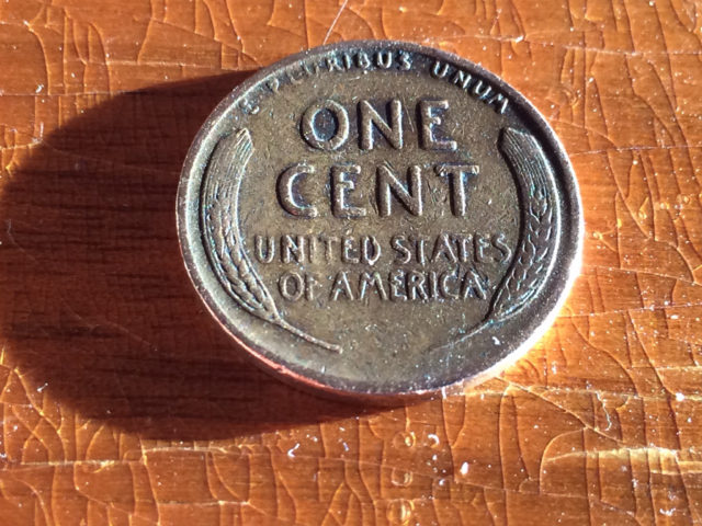 1940 red wheat penny