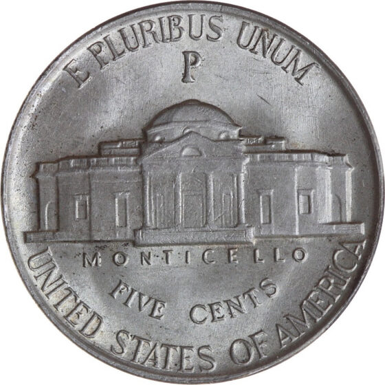1942 war nickels contain silver and show a large mintmark above the dome of Monticello on the reverse. See how much your 1943 silver nickels are worth here!