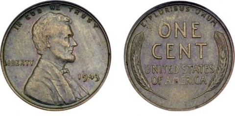 1943 Copper Cent