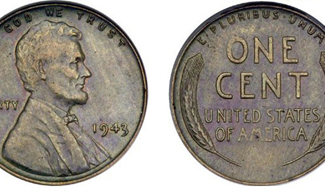 1943 Lincoln Cents The Value Of Steel Vs Copper Pennies