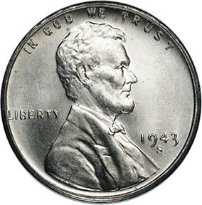 Have a 1943 silver penny? It is actually not silver. You have a 1943 steel cent.