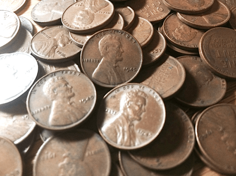 1945 penny value guide - 1945 wheat penny values