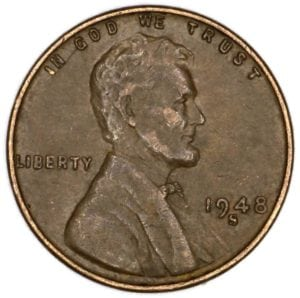 A 1948-S penny