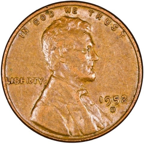 Uncirculated Red 1950 Philadelphia Mint Copper Lincoln Wheat Cent