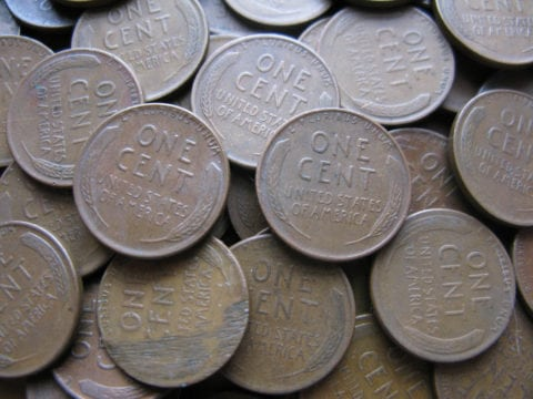 Some 1952 pennies are worth hundreds of dollars... even thousands. In fact, one 1952 wheat penny sold for nearly $9,000!
