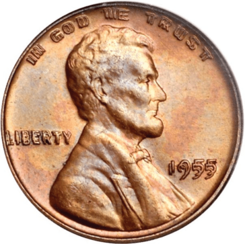 1955 doubled die penny error