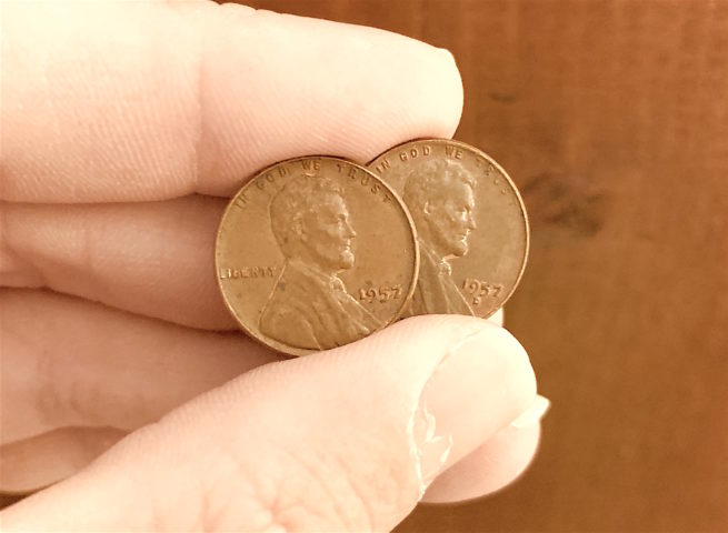 The Ultimate 1957 Penny Guide: See The Value Of A Worn 1957