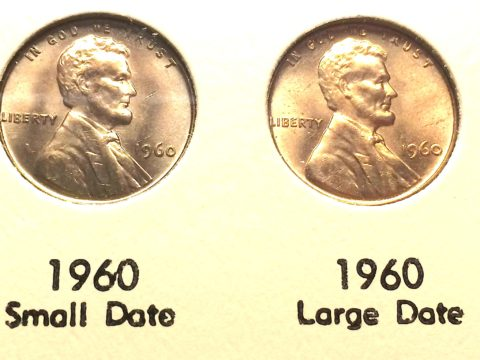 1960 small date penny - 1960 penny value