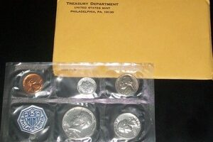 1964 Proof Set: Last Year Of Circulating 90% Silver Coins & First Look At The Kennedy Half Dollars