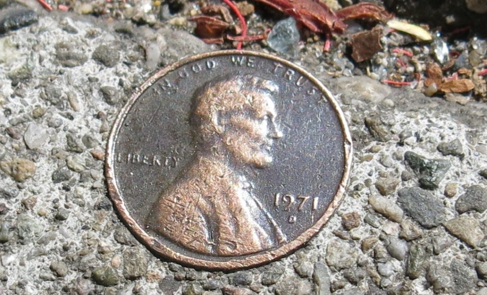 Have A 1971 Penny? Or A Rare 1971 Double Die Penny? Here's