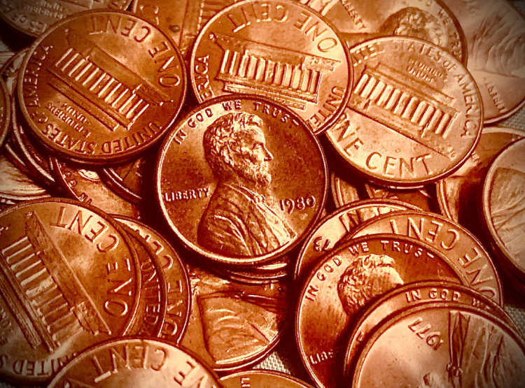 The 1980 penny is worth more than face value, and some old 1980 Lincoln pennies are worth more than $3,600!