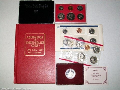 This is an example of a 1981 birth year coin set.