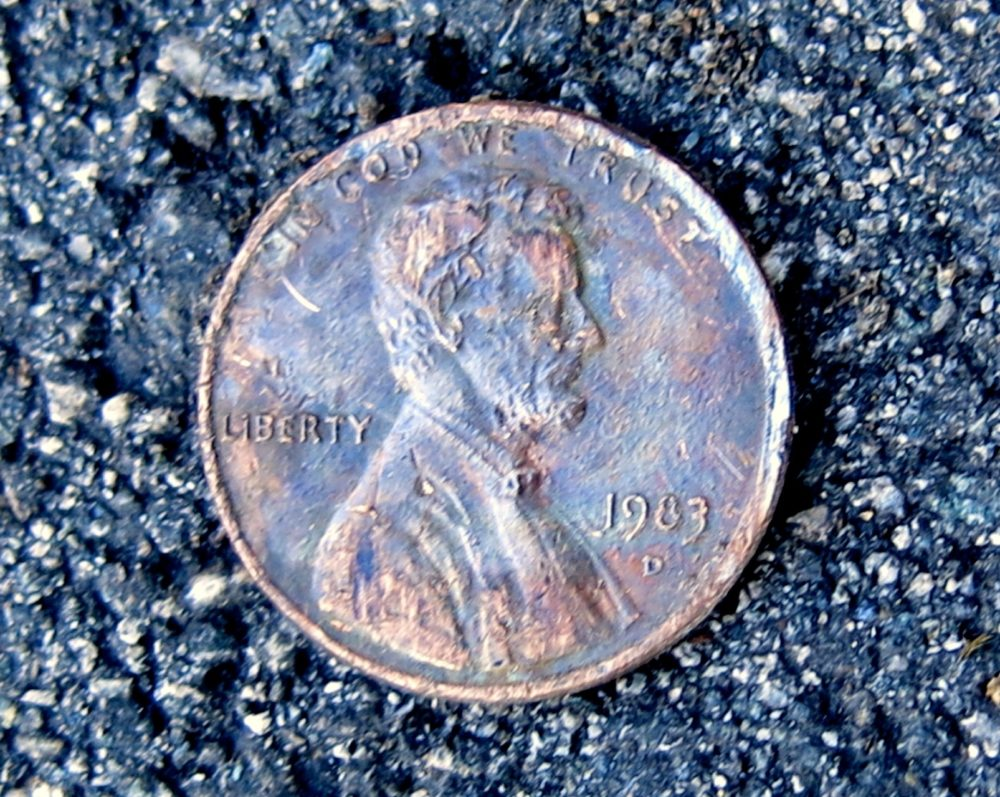 There's A 1983-D Penny (A Rare 1983 Copper Penny!) That You