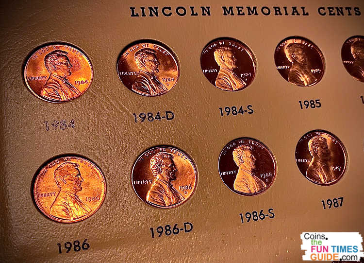 Some 1986 pennies are worth more than face value up to thousands of dollars!