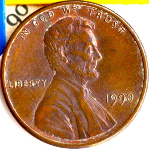 1990 penny value