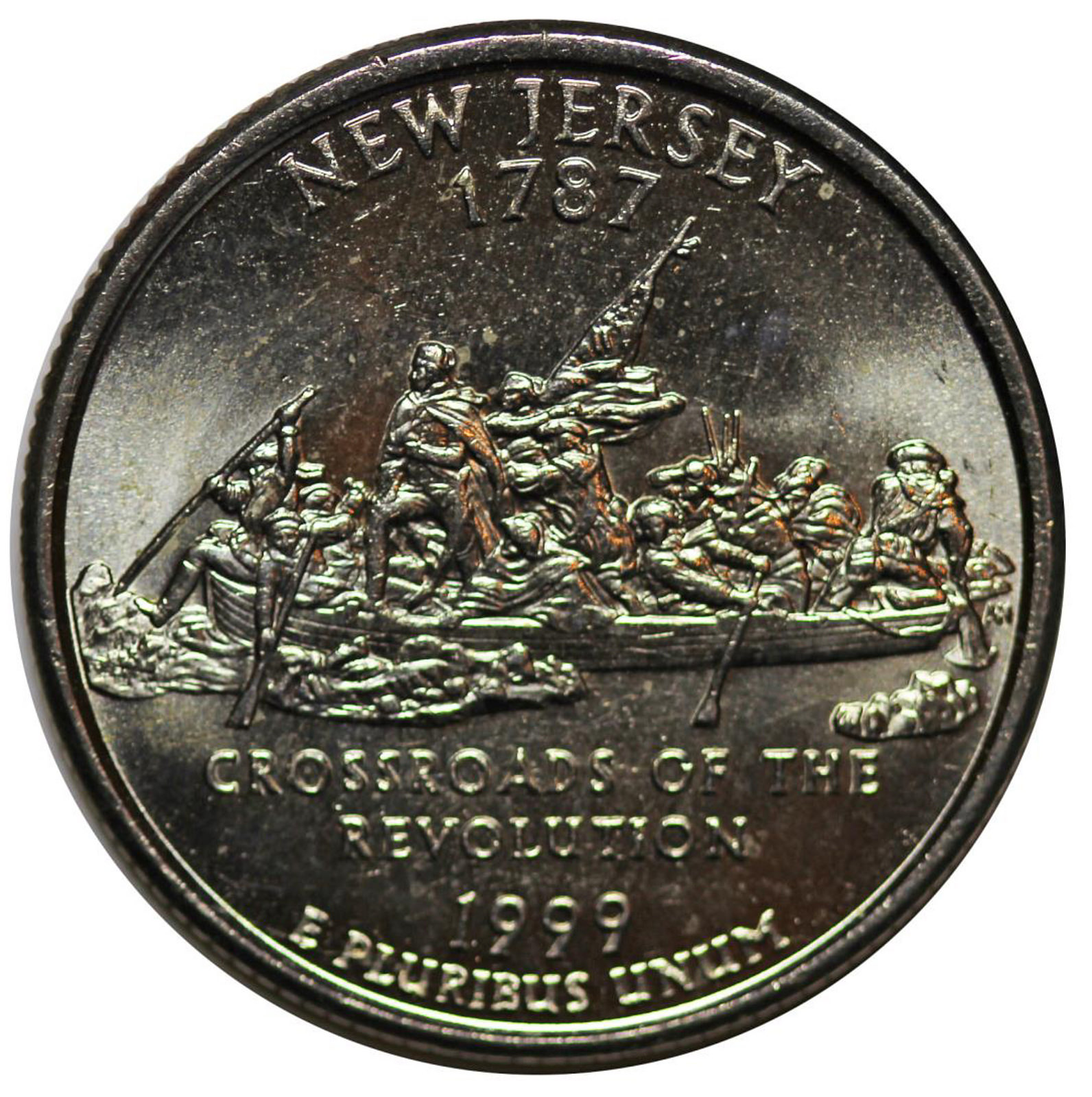 Have A Gold 1999 Quarter New Jersey Is