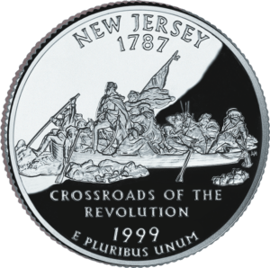 Two headed coins - the 1999 New Jersey quarter