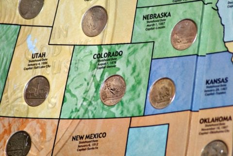 If you have a 2006 Colorado state quarter, it might be one with errors that is worth a lot of money