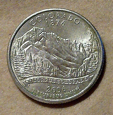 Here's a list of valuable 2006 Colorado quarter errors to look for
