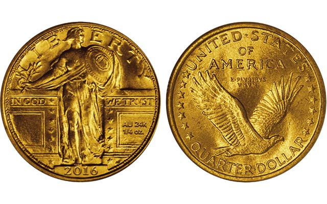 2016 Centennial Gold Coins Honor The 100th Anniversary Of