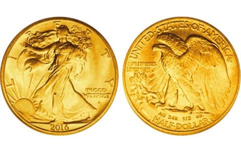 2016 Gold Coins