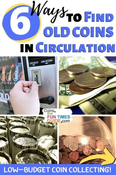 Finding coins in circulation is a clever form of low-budget coin collecting. See the 6 best ways to find old coins without spending any money for them!