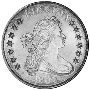 The Fascinating Story Of The Rare 1804 Draped Bust Dollar & How To
