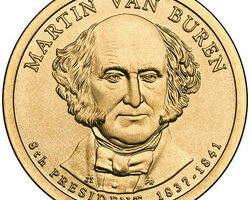 Martin Van Buren Dollar Coin: Little-Known Facts About The 8th Presidential Dollar Coin In The Series & How Much It's Worth