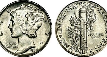 Mercury Dimes: What's Their Value? How To Determine What A Mercury Dime Coin Is Worth
