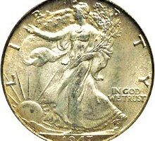 Walking Liberty Half Dollars — 15 Years Of Coin Values