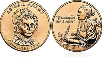 First Spouse Bronze Medals Have The Same Designs As First Spouse Gold Coins