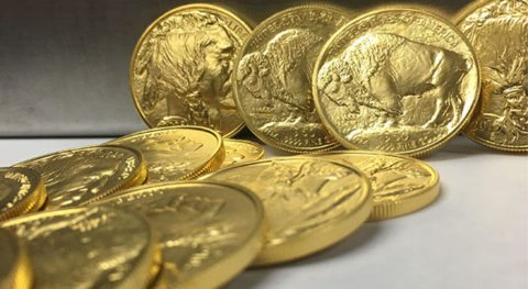 These are American Buffalo gold coins