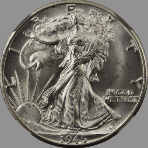 American Silver Eagles Walking Liberty Half Dollars