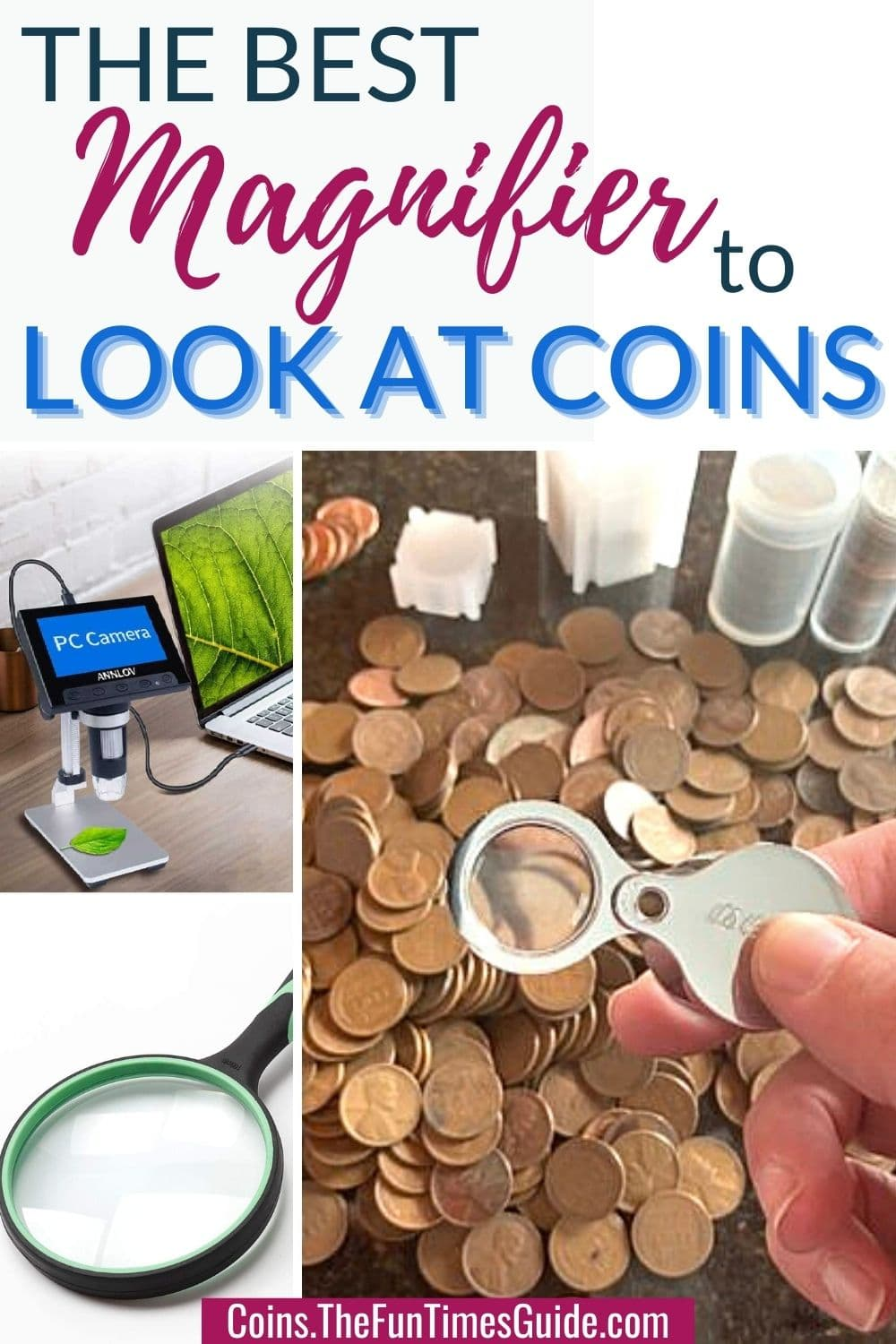 Coin Collecting Magnifiers: How To Choose The Best Magnifying Glass For Coins!