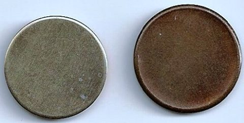 Coin blank planchets