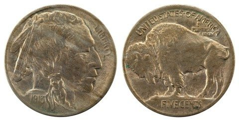 Buffalo Nickels US Coins