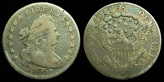 Bust Dimes: Rare Coins From The 1800s