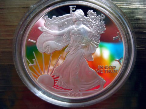 A popular Lady Liberty coin - Lady Liberty has been featured on U.S. coins since the 1700s.