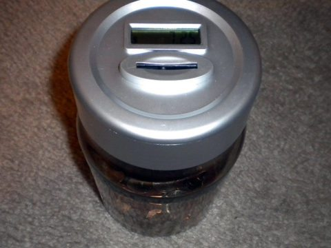 Coin Roll Counter