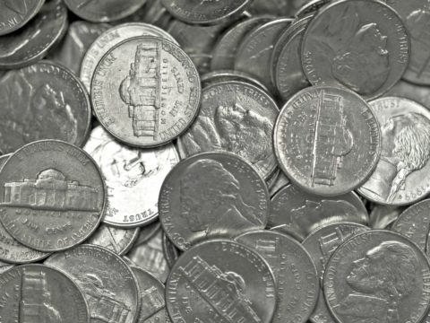 Once pennies became scares, people would shift to collecting nickels in the United States.