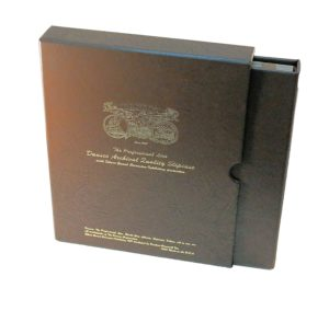 This is an example of an archival quality coin album with slipcase.