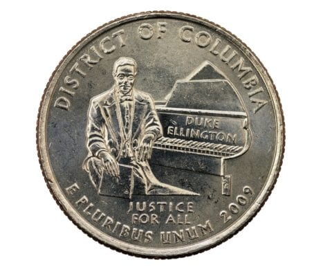 Some 2009 District of. Columbia quarters have errors