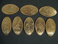Elongated Pennies: Squashed Coins With Fun Designs