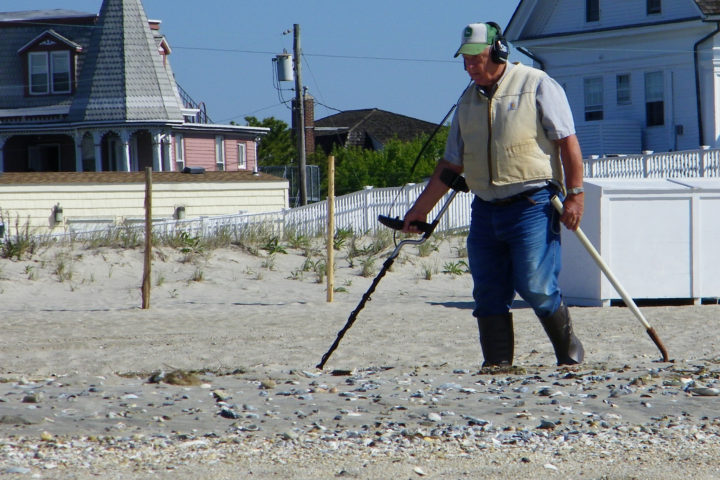 You can find some really old coins by using a metal detector to search public places where people are likely to have dropped things over the years.