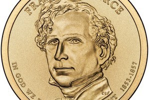 U.S. Mint Releases Franklin Pierce Dollar Coin & Jane Pierce Medal Set