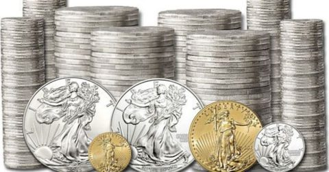 American Gold Eagles and American Silver Eagles