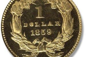 Gold Dollars: Tiny Gold Coins From Historic Days Gone By